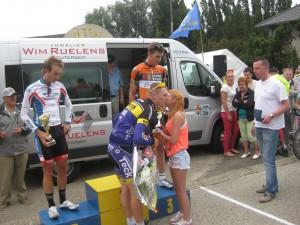 Sfeerfoto's wielerwedstrijd Elite z.c. & Beloften 21 juli 2014
