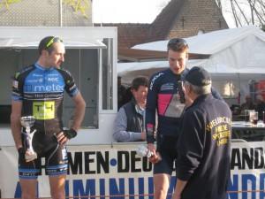 Sfeerfoto's Wielerwedstrijd Elite z.c. & Beloften zondag 8 maart 2015