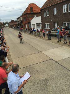 Sfeerfoto's Wielerwedstrijd Nieuwelingen woensdag 27 juli 2016